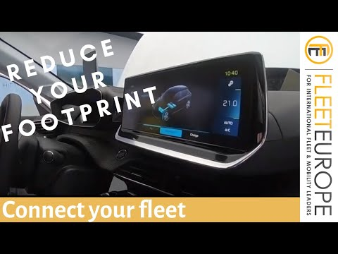 Connect your fleet, reduce your footprint