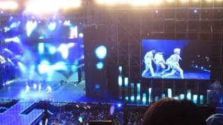 SHINee - Sherlock [FANCAM] Music Bank in Indonesia