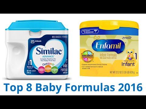 8 Best Baby Formulas 2016