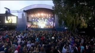 Lillebjørn Nilsen - God natt Oslo / Barn av regnbuen (Nasjonal minnekonsert 22.7.12)