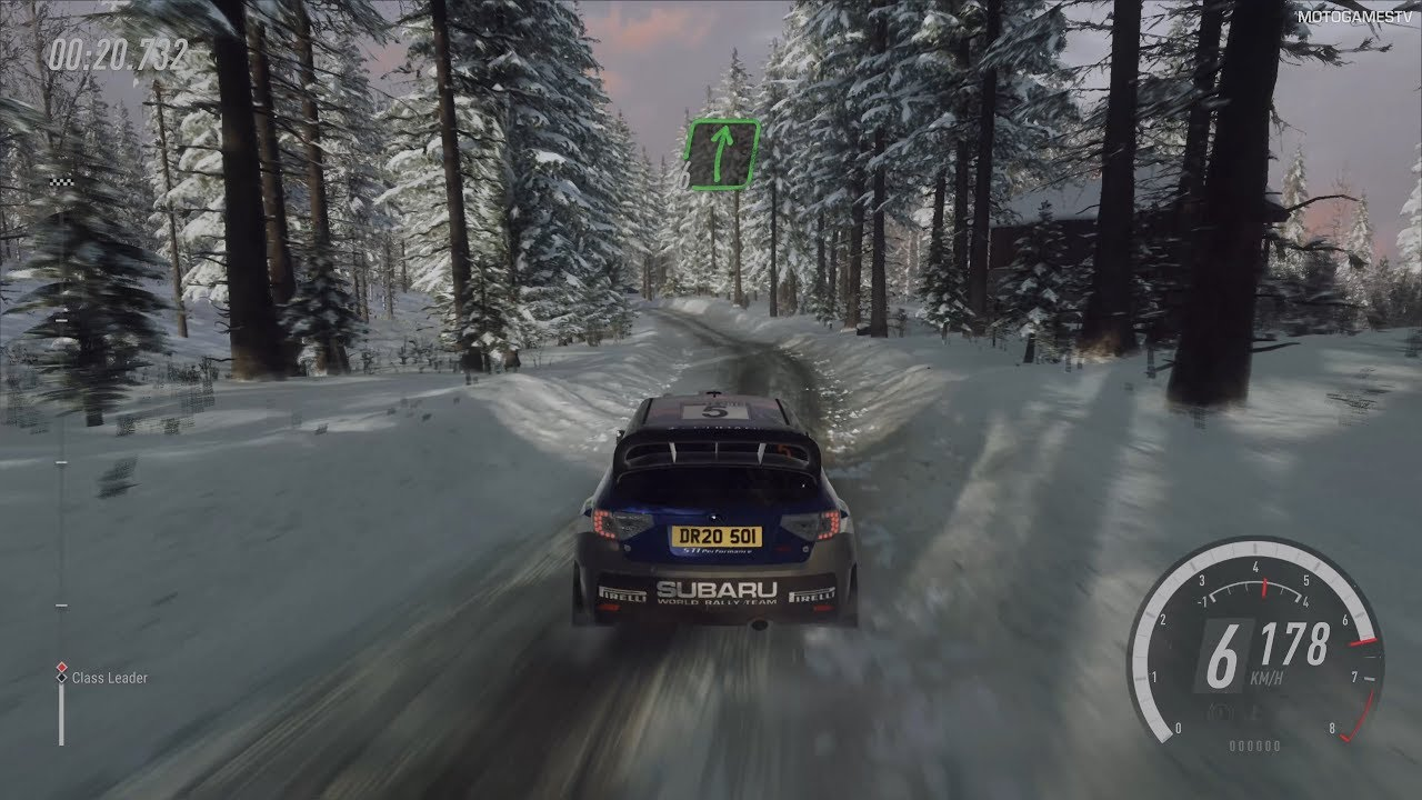 DiRT Rally 2.0 - Subaru Impreza - Rally Sweden Gameplay [4K 60FPS]