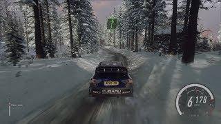 DiRT Rally 2.0 - Subaru Impreza - Rally Sweden Gameplay [4K 60FPS]