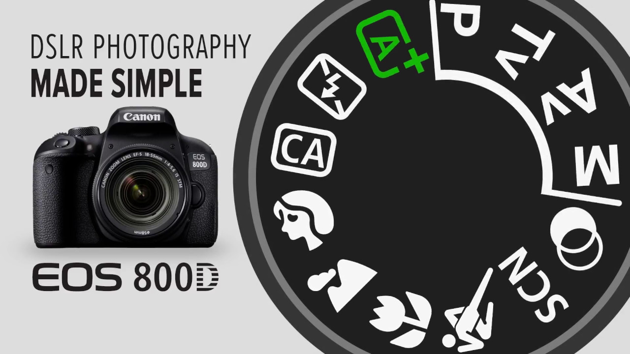 Canon EOS 800D Photography Made Simple