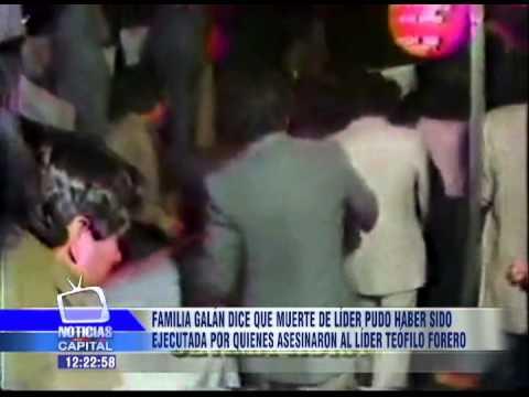 Familia Galán dice que Luis Carlos Galán y Teófilo Forero pudieron ser asesinados por el mismo autor