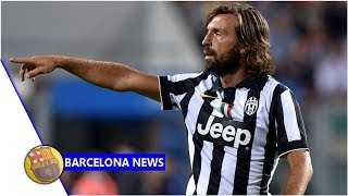 Pirlo jokes about coaching offers Barcelona are waiting for me news now