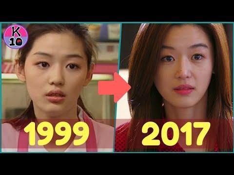Jun Ji Hyun legend of the blue sea EVOLUTION 1999-2017