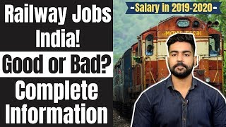 Railway Jobs India after 10th, 12th , Graduation | 2021 | Full Detail | RRB | UPSC | Group-A,B,C,D