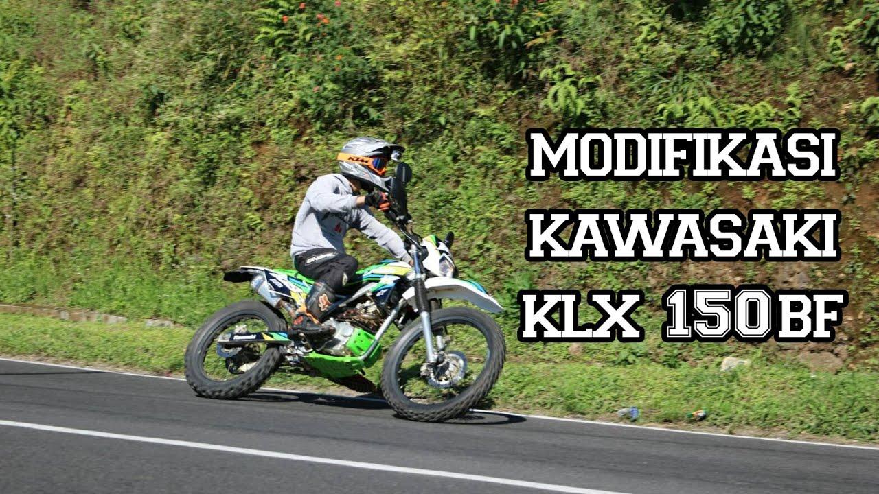 Review Modifikasi Kawasaki KLX 150BF [G] 2016