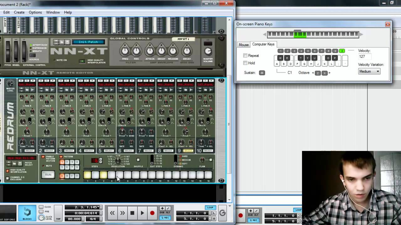 Reason 5 | propellerhead | hip hop chord progressions | musical.