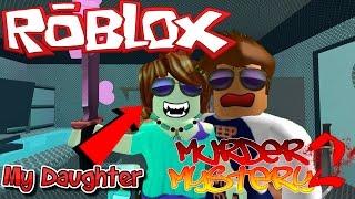 MY DAUGHTER MURDERED ME! -|- ROBLOX Murder Mystery 2 -|- Murdering with Babyfoxx