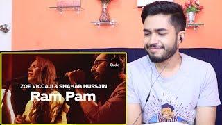 Indian Reaction on Ram Pam Coke Studio Season 12 Zoe Viccaji Shahab Hussain