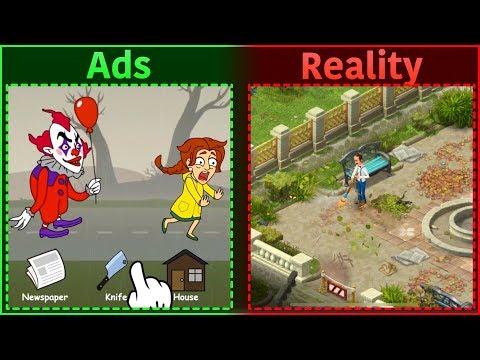 Mobile Game Ads Vs. Reality 7