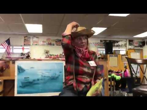 DeeDee's interview at Tyee Park Elementary school