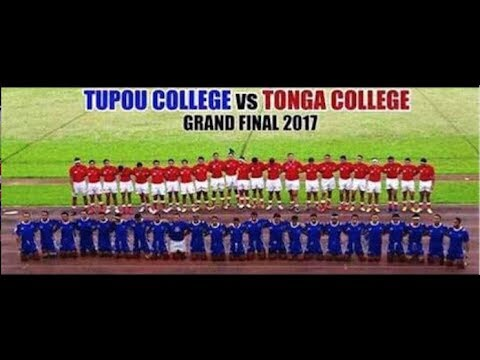 TONGA COLLEGE 'ATELE VS TUPOU COLLEGE TOLOA - SENIOR RUGBY UNION FINAL