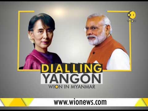 Watch: Indian PM Narendra Modi addresses Indian community in Myanmar