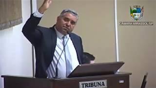7ª Sessão Ordinária - Vereador presidente Marcão Alves