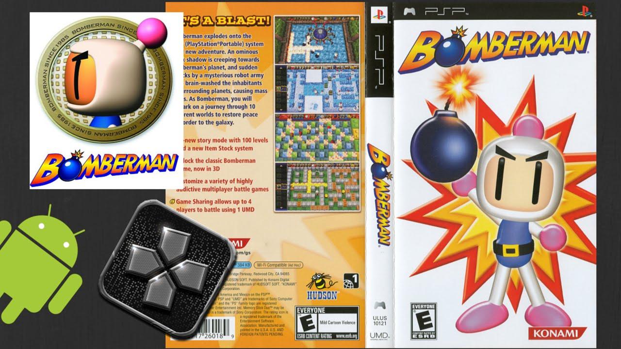 Bomberman Land (USA) PSP ISO High Compressed