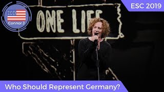 Eurovision 2019: Who Should Represent Germany?