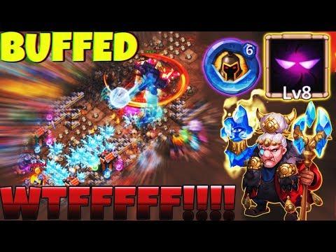 Ma Hatma 8/8 Unholy Pact | BUFFED | Insane Dungeons | OMG!!!!! | CASTLE CLASH