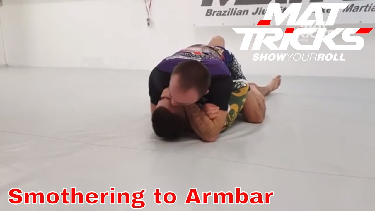 Smothering from the Mount to Armbar