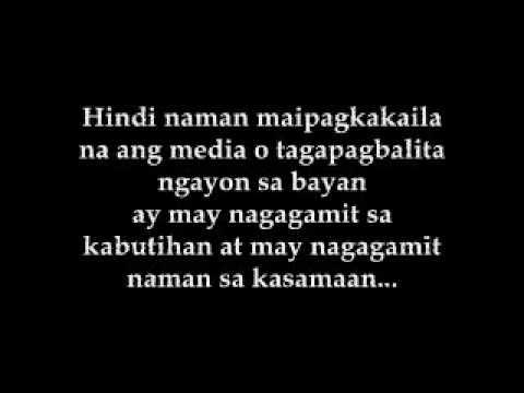 BALAGTASAN Kabataan o Gobyerno Pag - asa ng bayan from YouTube · Duration:  2 minutes 17 seconds