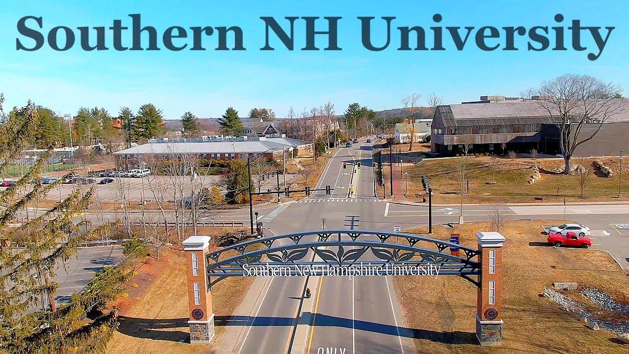 SNHU - Hooksett, NH - DJI Mavic 2 Zoom drone - YouTube
