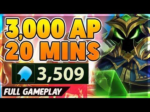 *NEW RECORD* 3,000 AP IN 20 MINUTES!!! (I NEXUS ONE-SHOT) - BunnyFuFuu Full Gameplay