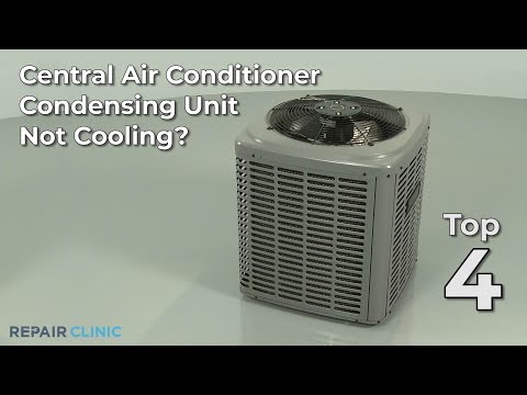 Central Air Conditioner Not Cooling? Central Air Conditioner Troubleshooting