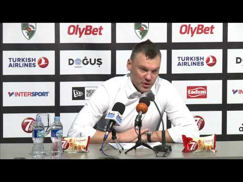 EuroLeague: Žalgiris Kaunas – CSKA Moscow press conference