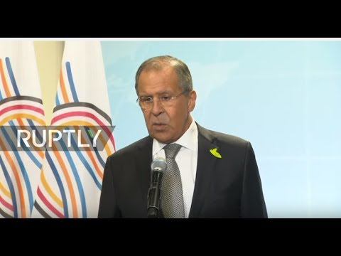LIVE: Lavrov holds press conference on sidelines of G20 Summit