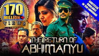 Video The Return of Abhimanyu (Irumbu Thirai) 2019 New Released Full Hindi Dubbed Movie | Vishal, Samantha download MP3, 3GP, MP4, WEBM, AVI, FLV Agustus 2019
