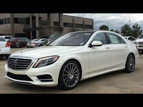 2016 Mercedes Benz S Class S550 Full Review, Start Up, Exhaust