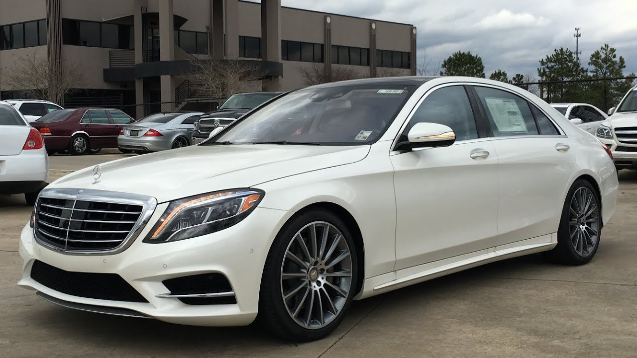 2016 mercedes benz s class s550 full review start up for Mercedes benz s550 pictures