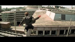 Tom Cruise Building Jump Stunt Gone Wrong Scene |