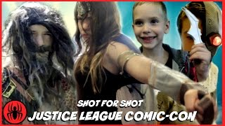 Justice League Comic-Con Trailer (2017) Batman Flash Wonder Woman Aquaman SWEDED Movie SuperHeroKids