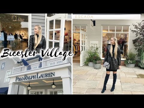 LUXURY SHOPPING, NEW BICESTER VILLAGE OUTLET TOUR AUTUMN CHRISTMAS 2017 | Scarlett London