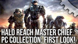 Halo Reach PC First Look: 4K60, Enhanced Mode vs Original Mode + More!