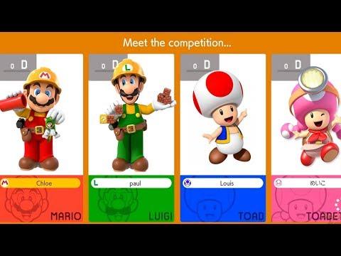 Super Mario Maker 2 Coop Gameplay Trailer Nintendo Direct 2019