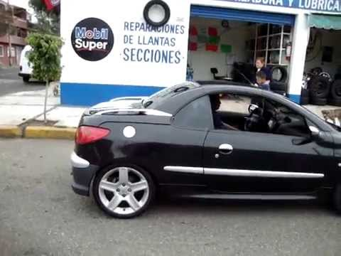 peugeot 206 cabriolet copue 2007 llantas garra youtube. Black Bedroom Furniture Sets. Home Design Ideas