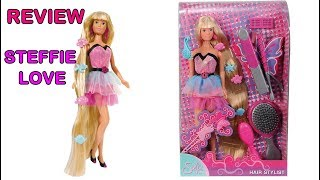 REVIEW MUÑECA STEFFIE LOVE HAIR STYLIST