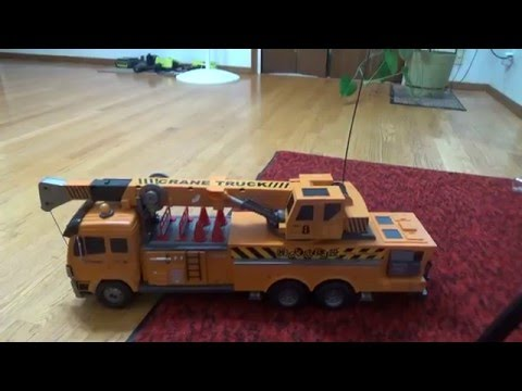 Hobby Engine Remote Control Crane Truck