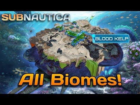 ALL BIOMES in Subnautica 1.0   Full release