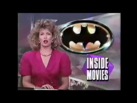 1989 Batman Movie Entertainment Tonight June 20 Los Angeles Premiere LA Segment 1989Batman.com
