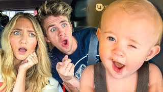 Download Baby Posie's Hilarious Reaction Eating Nasty Baby Food For 1st Time!!! Mp3 and Videos