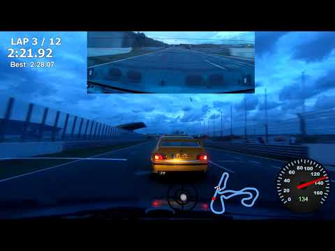 Zandvoort Vrij Rijden 15-08-2019 Toer 13 XL 21:00 Mazda 121 DB 1.6 SOHC B6 Swapped