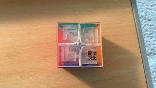 Moyu Lingo Review (transparent stickerless)