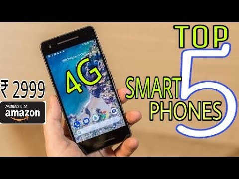 Top 5 Best 4G VoLte Smartphones 2018 Under Rs 3000 | 5MP Camera | 13MP Selfee Camera | 16GB ROM