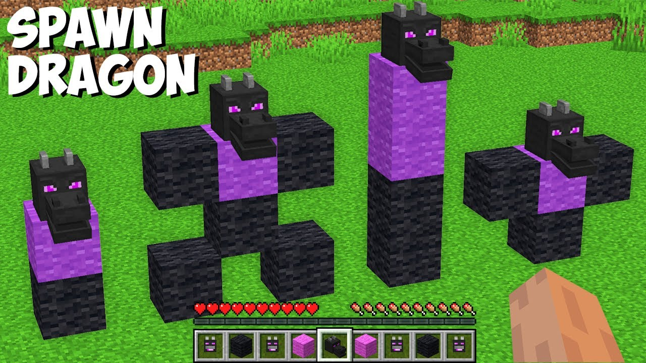 What is the BEST WAY TO SPAWN ENDER DRAGON in Minecraft ? HOW TO SUMMON BEST ENDER DRAGON !