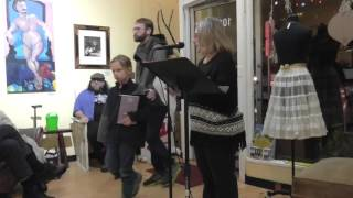 Ghost Town Poetry Open Mic 1-14-16 Video 1