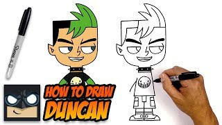 How to Draw Duncan | Total Dramarama | Step-by-Step Tutorial